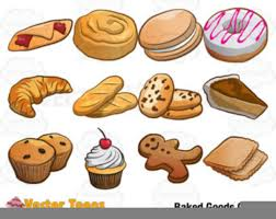 Bakery Items Clipart Free Images At Clkercom Vector Clip Art