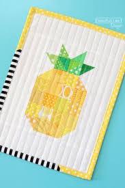 free pattern: pineapple mini quilt | me pattern | Pinterest | Mini ... & free pattern: pineapple mini quilt Adamdwight.com