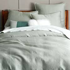 sage green duvet cover comfy king linen tea pertaining to 18