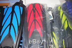 Atomic Aquatics Split Fins Scuba Diving Snorkel New Xl Red