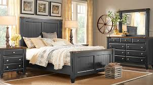 Black Queen Bedroom Sets for Sale 5 6 Piece Suites