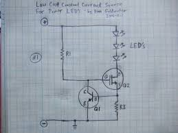power led s simplest light constant current circuit 9 power led s simplest light constant current circuit 9 steps pictures