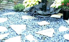 large garden stones black landscape rock white landscaping and beds gardening flower vegetables garden pebbles for