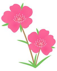 夏の花 素材庭園フリーイラスト素材集 花動物食べ物人物