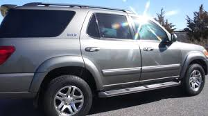 ARMORED 2005 Toyota Sequoia SR5 4x4 For Sale~7 Passenger~3rd Row ...