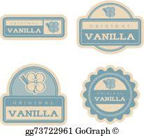 Vintage Food Labels Vector Clipart Peach Vintage Food Labels Vector Illustration