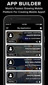 app maker builder creator diy app development 1 0 screenshot 6