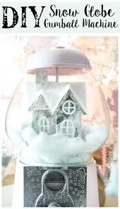 diy snow globe gumball machine blesserhouse com