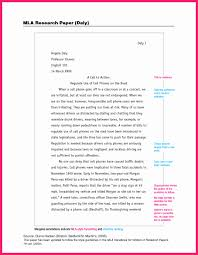 011 Mla Format For Research Papers Style Paper Luxury Museumlegs