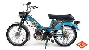 1978 blue silver motobecane moby 50vlc sold detroit moped works