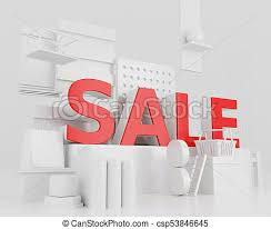 sale word 3d word sale concept 3d illustration word sale design drawing