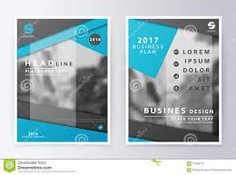 Layout For Business Plan Annual Report Brochure Flyer Design ...