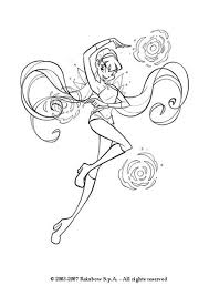 Stella Coloring Pages Stella The Winx Club Fairy Coloring Pages