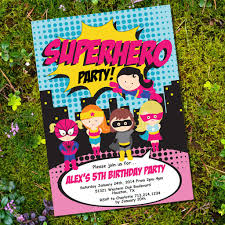 superheroes birthday party invitations superhero invitation oyle kalakaari co