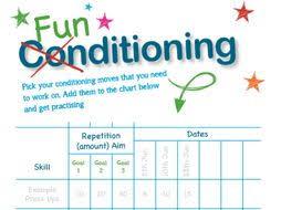 Gymnastics Exercise Worksheet Funditioning By