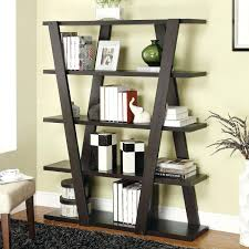 open bookcase coaster bookcases modern bookshelf with inverted supports  open shelves open bookcases ikea