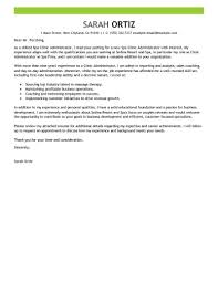 Clinic Administrator Sample Resume Best Clinic Administrator Cover Letter Examples LiveCareer 9
