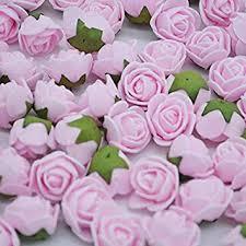 Buy Petsdelite Pe03: <b>72Pcs</b>/<b>Lot</b> 2Cm Mini <b>Pe</b> Foam <b>Rose Flower</b> ...