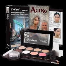 mini pro student kit theatrical acting instruction mehron effects makeup