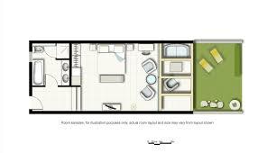 sample floorplan luxury hotel room layout s42 room