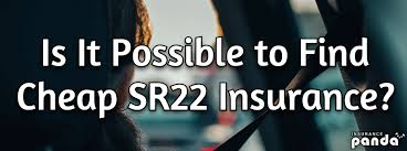 The cost of sr22 insurance is determined by your state's minimum liability requirements. Is It Possible To Find Cheap Sr22 Auto Insurance