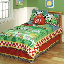 farm quilt quilts decor kids bedding sets