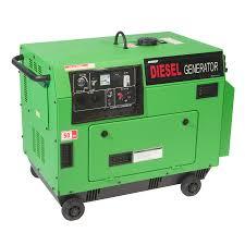 electric generator. Diesel Silenced Generator Electric