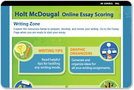 Holt Online Essay Scoring  Teacher Support