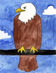 Small Picture Bald Eagle Art Projects for Kids