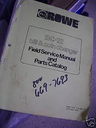 Antares Vending Machine Owners Manual Interesting VENDING MACHINE OWNERS Manual Rowe BC 48 Bill Changer 4848
