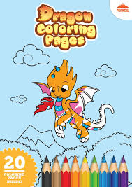 Find high quality dragon coloring page, all coloring page images can be downloaded for free for personal use only. File Dragon Coloring Pages Printable Coloring Book For Kids Pdf Wikimedia Commons