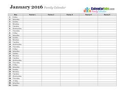 Monthly Calendar Schedule Family Monthly Calendar Monthly Schedule Template Lorgprintmakers Com
