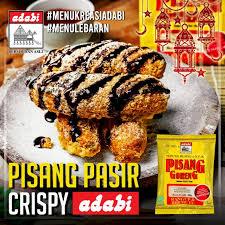 We did not find results for: Pisang Pasir Crispy Bumbu Masak Adabi