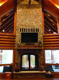 indoor outdoor wood fireplace see thru fireplaces for perfect modern wood burning fireplace