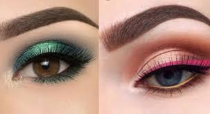 beginners eyeshadow tutorial for hooded eyes cute eye makeup eyeliner ideas pilation