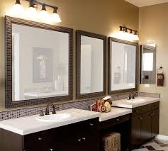 bathroom mirror cabinets rustic. mirror ideas for bathroom rectangle black wooden wall mount double white undermount sink stained cabinet rustic dark brown cabinets e