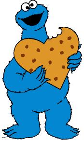 baby cookie monster clip art. And Baby Cookie Monster Clip Art
