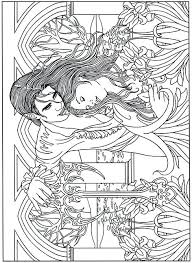 Goth Coloring Pages Wikipharminfo