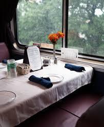 Amtrak Auto Train Dinner Dining Photo