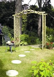 wooden garden arches wooden garden arches with planters