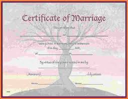Wedding Certificate Template Inspiration 48 Blank Marriage Certificate Sweep48