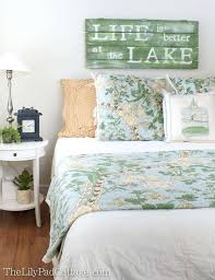 Lake Decor Accessories Lake Decor Accessories Guest Room And House Guests Lakes Home 21