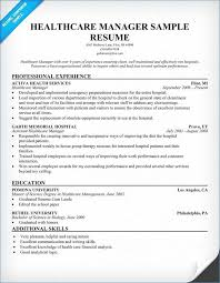 Nurse Executive Sample Resume | Ophion.co