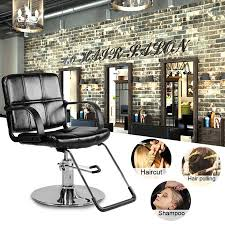 Comfortable Hydraulic Barber Chair Spa Styling Seat Salon Beauty