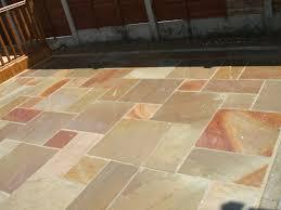to clean indian sandstone paving slabs