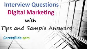 Common Marketing Interview Questions 40 Marketing Interview Questions And Answers