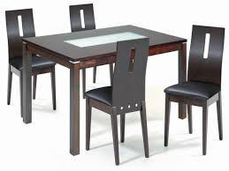 Modern Glass Dining Table Wood And Glass Dining Table And Chairs Modern Glass Dining Room