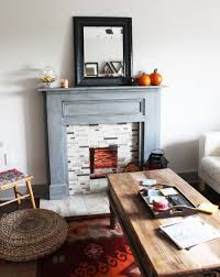 Build A Fake Fireplace Faux Fireplace Mantels Idi Design