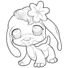Small Picture Littlest Pet Shop LPS Coloring Pages Colourings To Print In New
