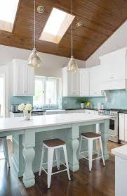 charming kitchen island lighting for vaulted ceiling sloped kitchen ceiling design ideas